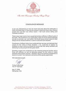 condolence letter example cover letter example With religious condolence letters