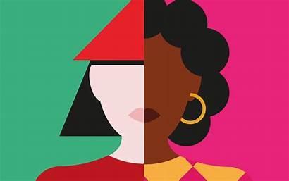 Woman Diversity Equality Many Blossom Unwomen Putting