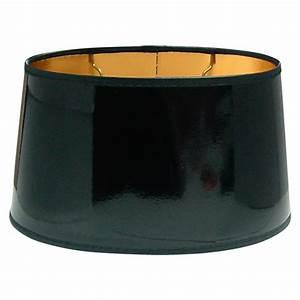 Lampenschirm Schwarz : lampenschirm durchmesser 25 cm schwarz lackfolie oval ~ Pilothousefishingboats.com Haus und Dekorationen