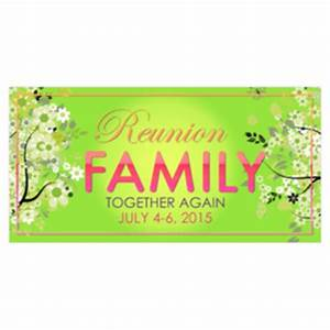 custom family reunion banners printasticcom With reunion banners design templates