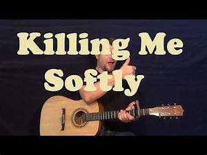 Guitar Chords Chart Images Killing Me Softly Lauryn Hill Easy Guitar Lesson Strum