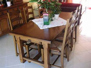 relooking salle a manger rustique galerie avec meubles With meuble salle À manger avec salle a manger a vendre