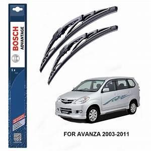 Bosch Advantage Wiper Blades For Toyota Avanza 2003