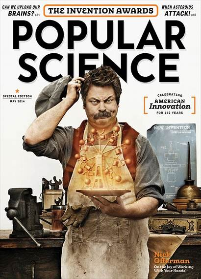Popular Science Magazine Issue Magazines Spoof Rockwell