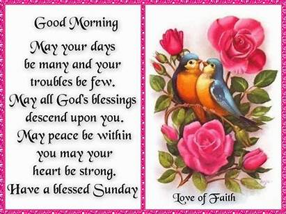 Sunday Morning Blessings Blessed Quotes Quote Happy