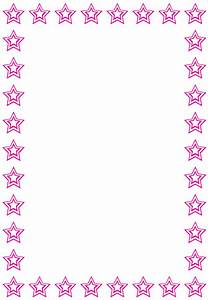 Pink Star Border | www.pixshark.com - Images Galleries ...