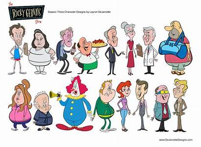 Character Gervais Season Ricky Designs Dejarnette Characters