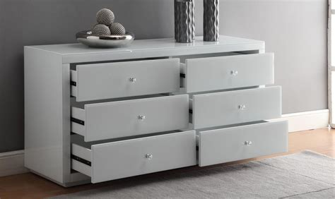 Vegas Mirrored White Glass 6 Drawer Dressing Table Or Low Chest Posterior Drawer Sign Test How To Make Wood Drawers Slide Easier Craftsman 26 3 Heavy Duty Ball Bearing Middle Chest Changing Table Of Sundvik Standard Kitchen Size Uk Tool Storage Box For 263pc Set Antique Ring Pulls 17mm Runners 350mm