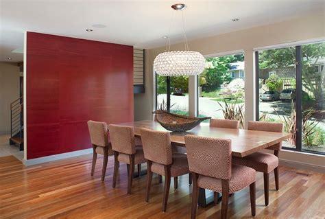 create  sensational dining room  red panache