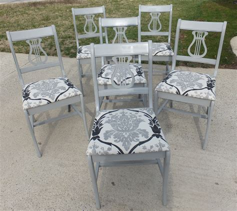 Painted Harp Back Chairs by 6 Duncan Phyfe Style Chairs Fresh Vintage Nc
