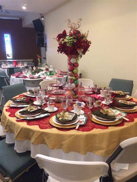 christmas tea party table decorations calendar tea party