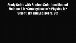 Pdf Download  Study Guide With Student Solutions Manual