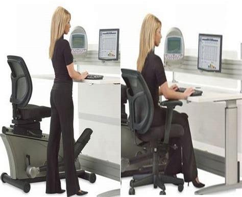 Office Desk Equipment by Elliptical Machine Office Desk