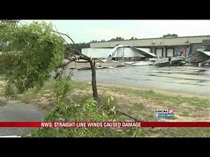 Straight-line Winds Caused Damage - YouTube