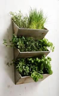 planter walls in gardens shabby chic large wall hanging herbs planter kit wooden kitchen garden indoor gardens