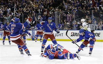 Rangers York Penguins Players Wallpapers Pittsburgh Celebrate