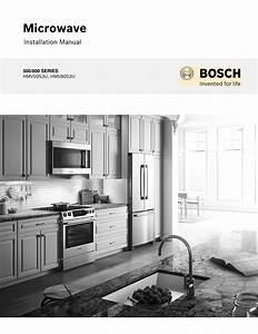 Bosch Hmv8053u Installation Instructions
