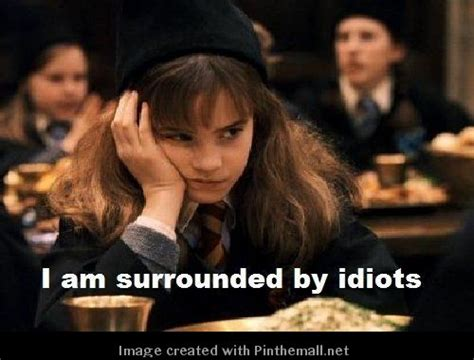 Hermione Granger Memes - harry potter hermione grainger quote created via http pinthemall net sayings and stuff