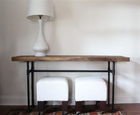 diy sofa table plans diy wooden  homemade cat tree