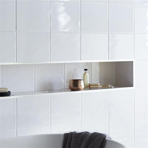 ceramic wall tiles holborn white ceramic wall tile pack of 20 l 250mm w