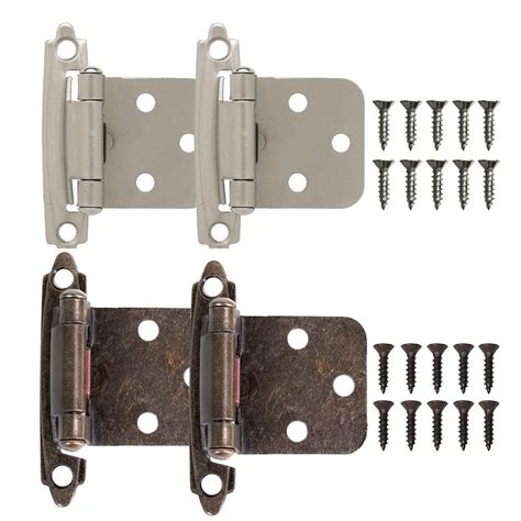 2102050x Kitchen Cabinet Hinges Self Closing Face Mount