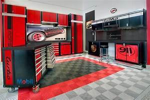 Revetement De Sol Pour Garage : amenagement revetement sol garage porsche dalle couleur ~ Dailycaller-alerts.com Idées de Décoration