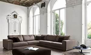 Grau Und Braun Kombinieren Möbel : wohnlandschaft in braun und grau schafft einen maskulinen look ~ Frokenaadalensverden.com Haus und Dekorationen