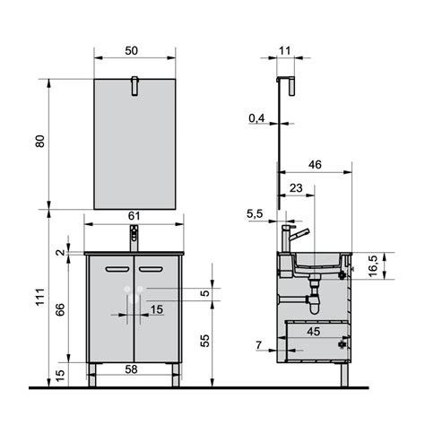 vide sanitaire cuisine dimension meuble vasque salle de bain 3