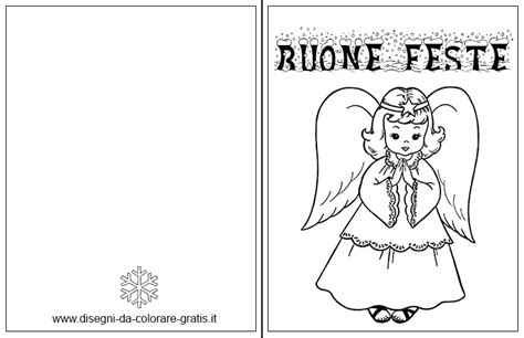 biglietti di auguri da colorare e stare gratis biglietti di natale da colorare con angelo disegni da