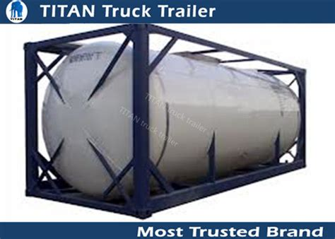 Fuel Petrol Oil Container Tanks Semi Truck Trailer With