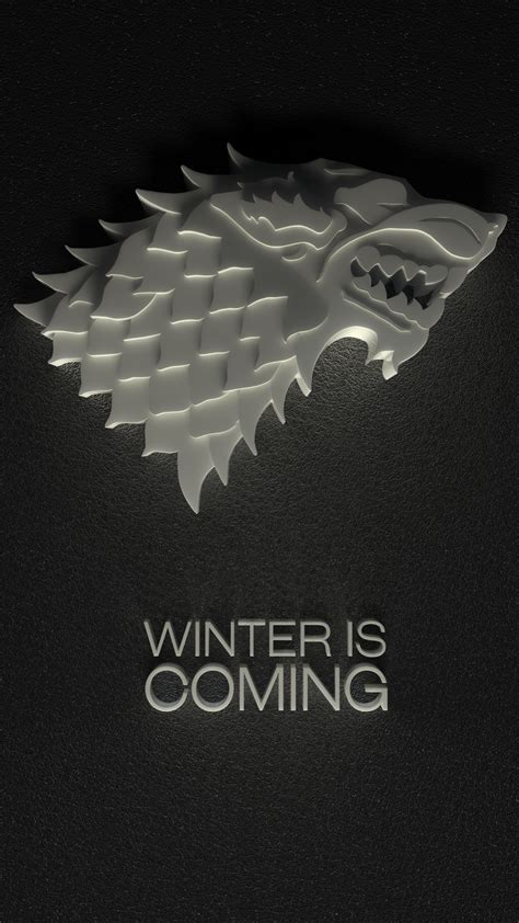 winter  coming iphone wallpaper gallery