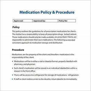 policies and procedures template peerpex With free policy and procedure manual template