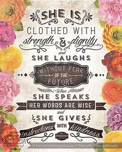 Typography Bible Verse Proverbs 3125 26 Simply Divine