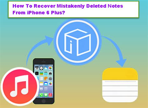 how to retrieve deleted notes on iphone how to recover mistakenly deleted notes from iphone 6 plus