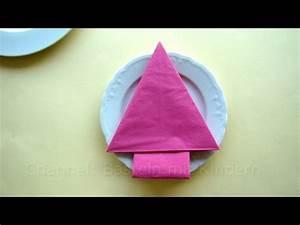 Basteln Mit Servietten : servietten falten weihnachten tannenbaum weihnachtsdeko basteln mit kindern youtube ~ Buech-reservation.com Haus und Dekorationen