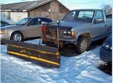 1988 GMC Sierra 1500 SLE 4X4 W SNOW PLOW for sale, Sioux