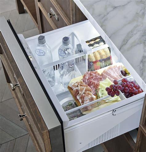 monogram zidsnss   built  double drawer refrigerator   cu ft capacity