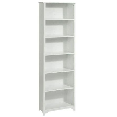 1 Foot Wide Bookshelf by Oxford 24 In White 6 Shelf Open Bookcase