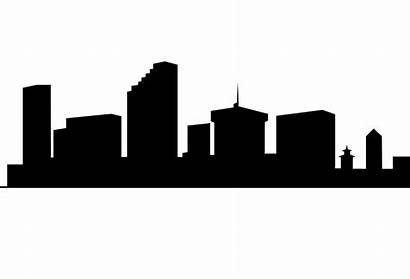 Silhouette Skyline Building Clipart Clip Drawing London