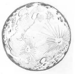 Full Moon Pencil Drawings