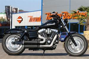 #Harley-Davidson Fat Bob with some #Thunderbike Custom ...