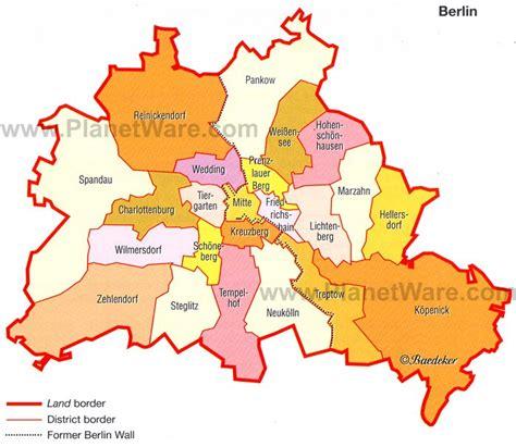 Berlin Karte Bezirke