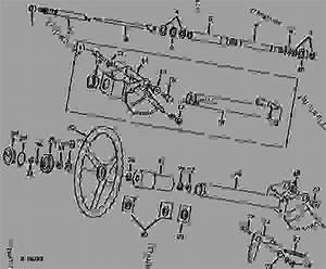 Telescoping Steering  Tractor Serial No  019559