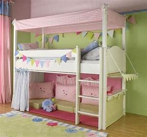 Kinderzimmer Vorhänge Mädchen : hochbett vorhang welche farben passen zu kinderzimmer kinder n hen hochbett ~ Sanjose-hotels-ca.com Haus und Dekorationen