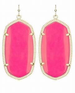neon pink earrings Gallery