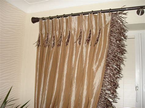 pinch pleated drapes and curtains pleat detailed