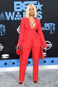 Cardi Bu0026#39;s Boobies Are Ready To Bust Out At The BET Awards! | CocoPerez.com