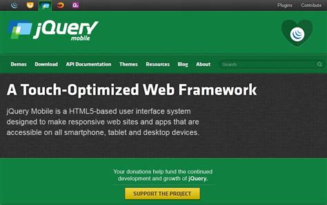 Jquery Ui Mobile by Things You Need To About Html5 Mobile Ui Framework