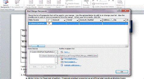 mail merge missing recipients microsoft dynamics crm