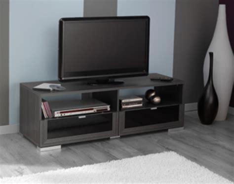 meuble de cuisines meuble tv knok chene cendre noir